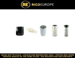 Filter Service Kit Fits 2450 Tractor - Air- Oil- Fuel Filters