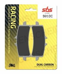Brake Pads 2 X Sbs 901dc Motorcycle Duo Carbon Bmw S1000rr Hp4 Abs 2012