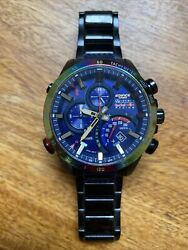 Red Bull Edifice Limited Edition Eqb-500 Rare Collectable Brand New