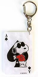 Snoopy Peanuts Keychain Playing Cards Spade Peanuts Xmas Gift