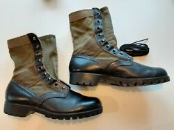 Original Us Gi Vietnam Issue Tropical Jungle Boots Ro-search Brand Size 9r