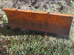 54 Snow Plow Blade For Utility Tractor
