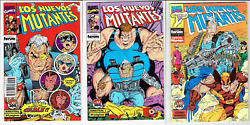 New Mutants 87-94 High Grade First Print Spain Variant In Spanish