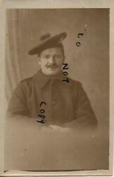 Ww1 Soldier Kosb Kingand039s Own Scottish Borderers In Greatcoat Nottingham Photo