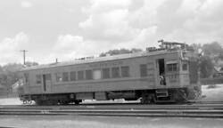 Sperry Rail Service Motor Car, Engine Number 126 Old Train Photo