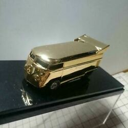 Rare Vw 2002 Danand039s Diecast 24kt Gold Bus Limited Edition 1/64 Shipped From Japan