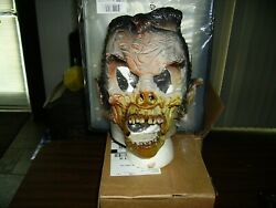 Distortions , Unused Halloween Mask - Moving Jaw Corpse