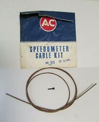 1941-1976 Oldsmobile Buick Cadillac Chevy Nos Gm Speedometer Cable Kit 6451067
