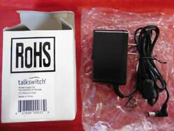 Genuine Talkswitch Oem Power Supply For Ts-350i Ts-550i Ip Phone Ct.tp003.017001