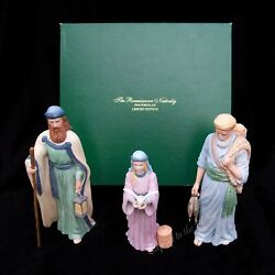 Lenox China Renaissance Nativity Townspeople Of Bethlehem Are In Mint Condition