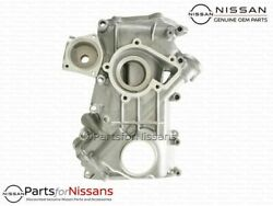 Genuine Nissan Frontier Xterra 2.4 Front Timing Cover - New Oem