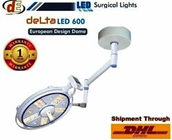 Ceiling Surgical Lights Led Ot Lamp Operation Theater Light Single Arm Delta 600