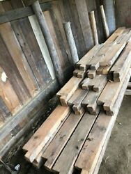 Reclaimed Timber Frame Floor Joists Pulled From 1790s Antique Cape