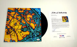 The Strokes Full Band Signed Autograph Is This It Vinyl Record Album Psa/dna Coa