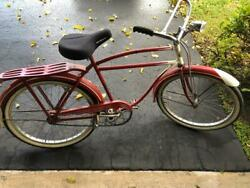 Antique 1930's Crusader Bicycle - Mead Bicycle Co. - Chicago, Ill.