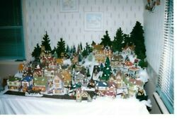 Dept 56 Dickens Village Collectors Estate Sale 53 House's And 40+ Accessory Item's