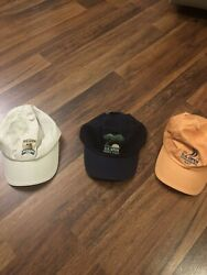 Lot Of 3  Us Open Golf Hats 2007, 2008 And 2015 1 New 2 Used