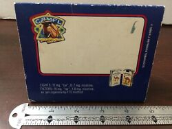 Rare Vintage 1990 Camel Smooth Character Cigarettes Tobacco Match Box Matches