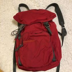 Authentic PRADA Backpack Red Used from Japan $180.00