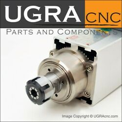 Professional Gmt High Torque Spindle Motor Air Cooled 2.2 Kw / 3hp Er25 Cnc Mill