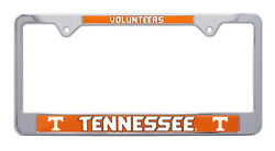 Tennessee Vols Metal License Plate Frame
