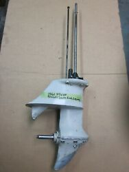 Johnson Evinrude 5.5 Hp Lower Unit Gearcase Assy 5 1/2 1957 -1964 Yrs 15 Inch
