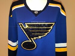 Hockey Jersey Crystallized Any Team Player W/genuine Crystals Bling Nhl Sports
