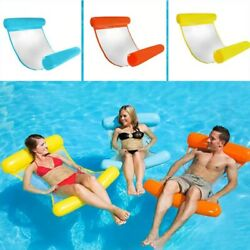 Inflatable Portable Swimming Pool Beach Float Hammock Floating Bed Chair Sale