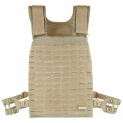 Gilet 5.11 Plate Carrier Attaches Molle Sandstone Neuf Porte-plaques Tan Coyote