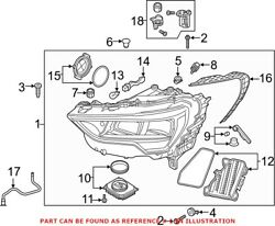 Genuine Oem Front Right Headlight Assembly For Audi 83a941012b