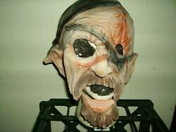 Distortions Unused Halloween Mask - Moving Jaw Pirate