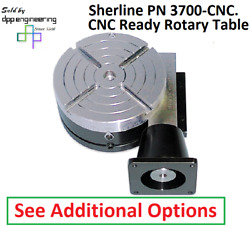 Sherline Pn 3700-cnc Rotary Table With Options