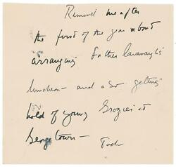 John F. Kennedy - Autograph Letter Signed - Re Personal Priest Of Kennedy Family