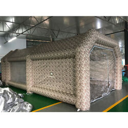 Flapkwan Spray Tent Camouflage Nets Inflatable Paint Booth