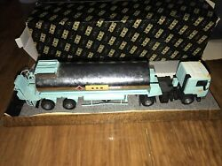 Scr Rincheval Renault R340 Mid Trailer Chemical Tank Model Stand W/ Box 150