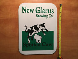New Glarus Brewing Co Sign - Spotted Cow