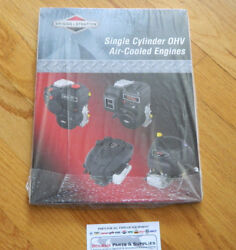 Oem Briggs And Stratton Single Cylinder Ohv Air-cooled Engine Repair Manual 276781