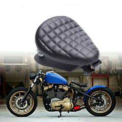 1motorcycle Square Style Bobber Seat Spring W/base Plate For Honda Shadow Rebel