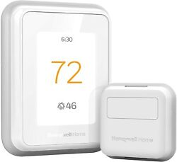 Honeywell Home T9 Wifi Smart Thermostat With 1 Smart Room Sensor, Touchscreen