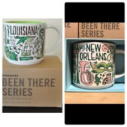 Starbucks New Orleans And Louisiana Andldquobeen There Seriesandrdquo 14oz Mugs. With Boxes.