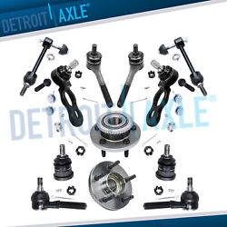 Front Wheel Bearing Hub Ball Joint Suspension For 98-02 Town Car Crown Victoria
