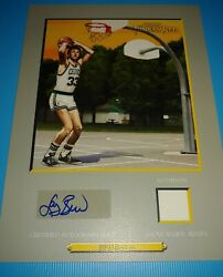 Larry Bird 06-07 Turkey Red Cabinet Autograph/jersey Only 10 Made 1 Of 1 Rare