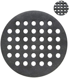 Cast Iron Round Fire Grate 9.5 Bbq Replacement For Large Big Green Egg Charcoal