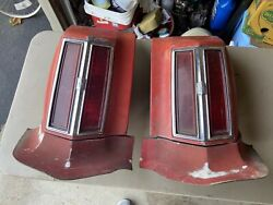 Vintage Car Tail Lights Lot Ford Chevy Oldsmobile Mercury