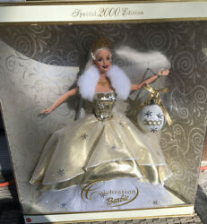 Collectibles Barbie Dolls Collectors Edition Celebration Barbie2000 In Box