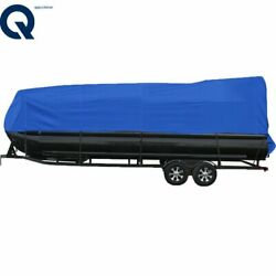 Boat Cover Pontoon 17 18 19 20 Ft Heavy Duty Rain Snow Dust Resistant Protection