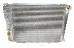 1969 Lincoln Continental Mark Iii Coupe Orig 460 4v Engine Cooling Radiator