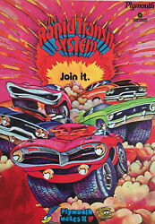 The Rapid Transit System Plymouth Makes It 23andrdquox32andrdquo Poster Mopar Nhra Drag