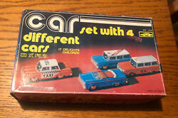 China Mf-946 Emergency And Taxi Car Tin Friction Toy Set