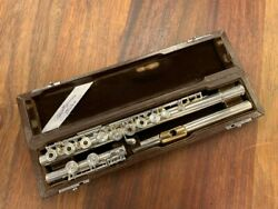 Preowned Miyazawa Flute - 300re W/sterling Head Gold Pl Lipplate Repad Prfct